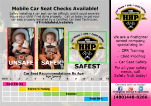 Call Safety Nick today for the best car seat safety info!