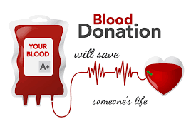 Blood donations will save someone's life