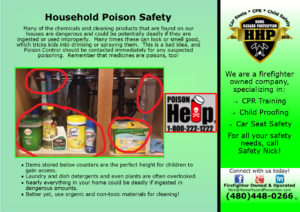 Household Poison Safety Tips