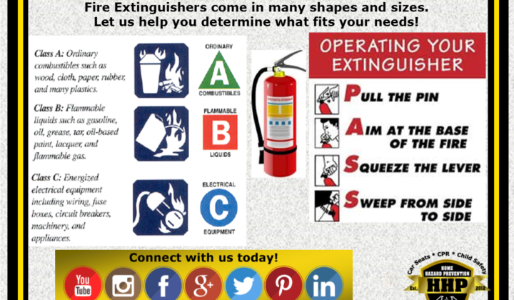Fire Extinguisher Safety & Smoke Detector Maintenance