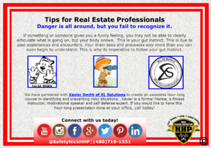 Real Estate Safety- Updated!