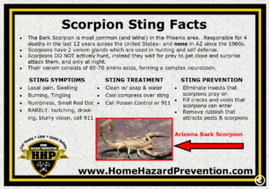 Scorpions can be deadly for certain people.