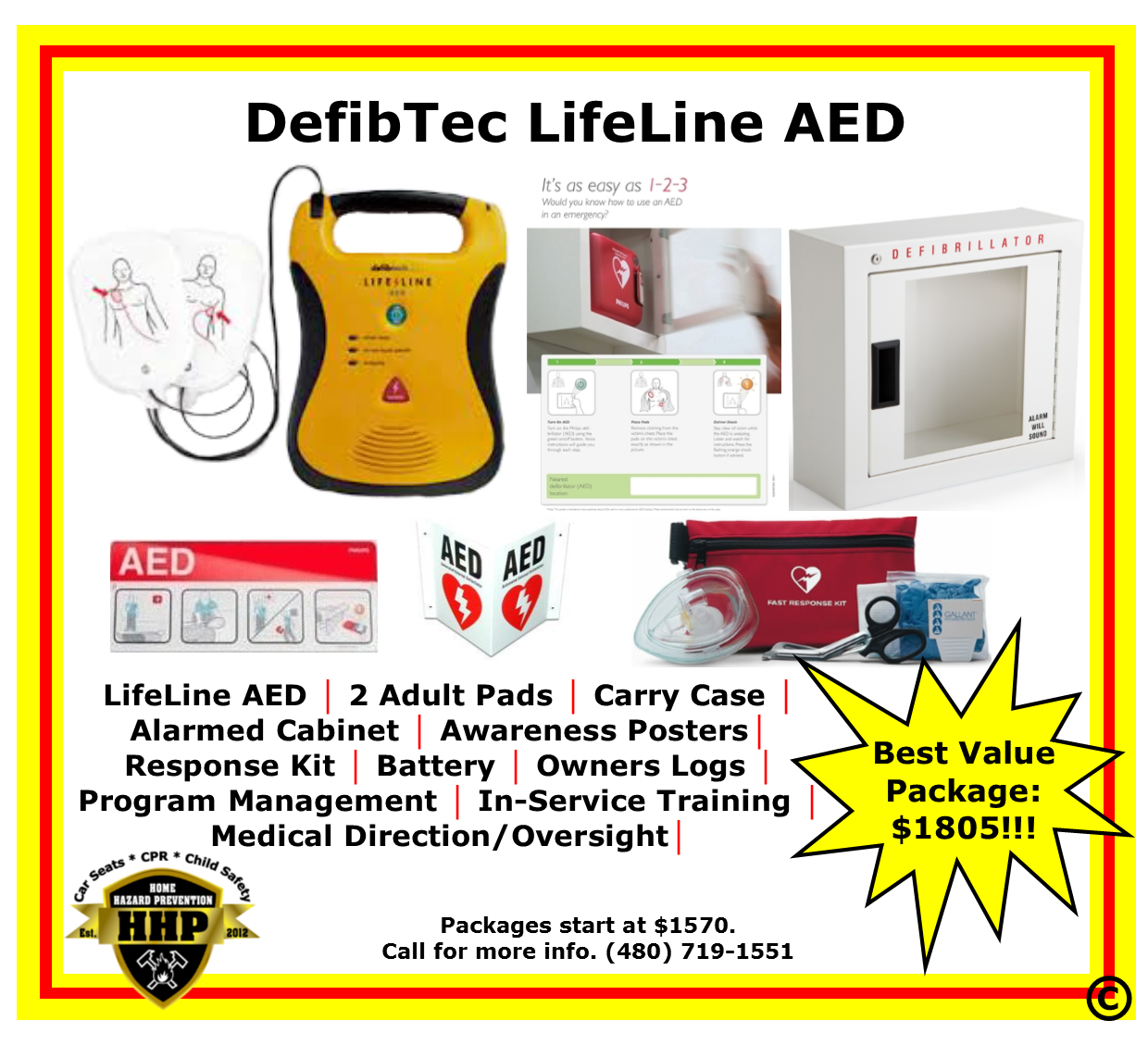 Defibtech Lifeline Aed Starting At 1570 From Hhp 480 719 1551