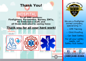 Thank you to our Frontline Heros!