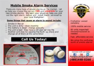 Smoke Alarm Service
