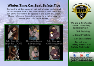 Winter Car Seat Safety Tips