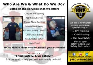 Firefighter Led Programs Save Lives!
