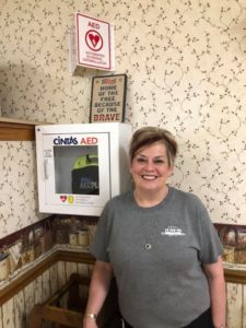 Wall Mounted AED