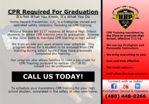 CPR Is Required For Graduation in Arizona