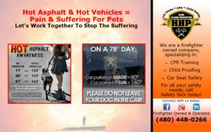 Summer Time & Hot Asphalt