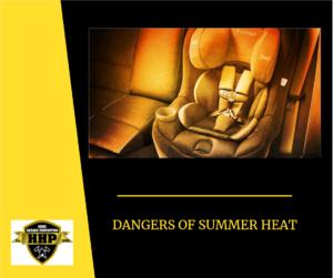 Dangers of Summer Heat