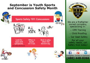 Youth sports and concussion safety