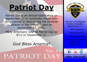 Patriot Day Flyer